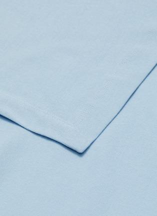 - ROSETTA GETTY - Side tie asymmetric apron wrap panel T-shirt dress