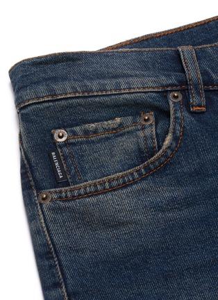 - BALENCIAGA - Distressed cuff jeans