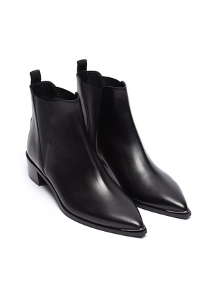Detail View - Click To Enlarge - ACNE STUDIOS - Leather Chelsea boots