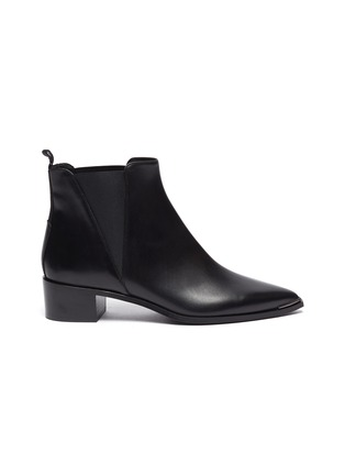 Main View - Click To Enlarge - ACNE STUDIOS - Leather Chelsea boots