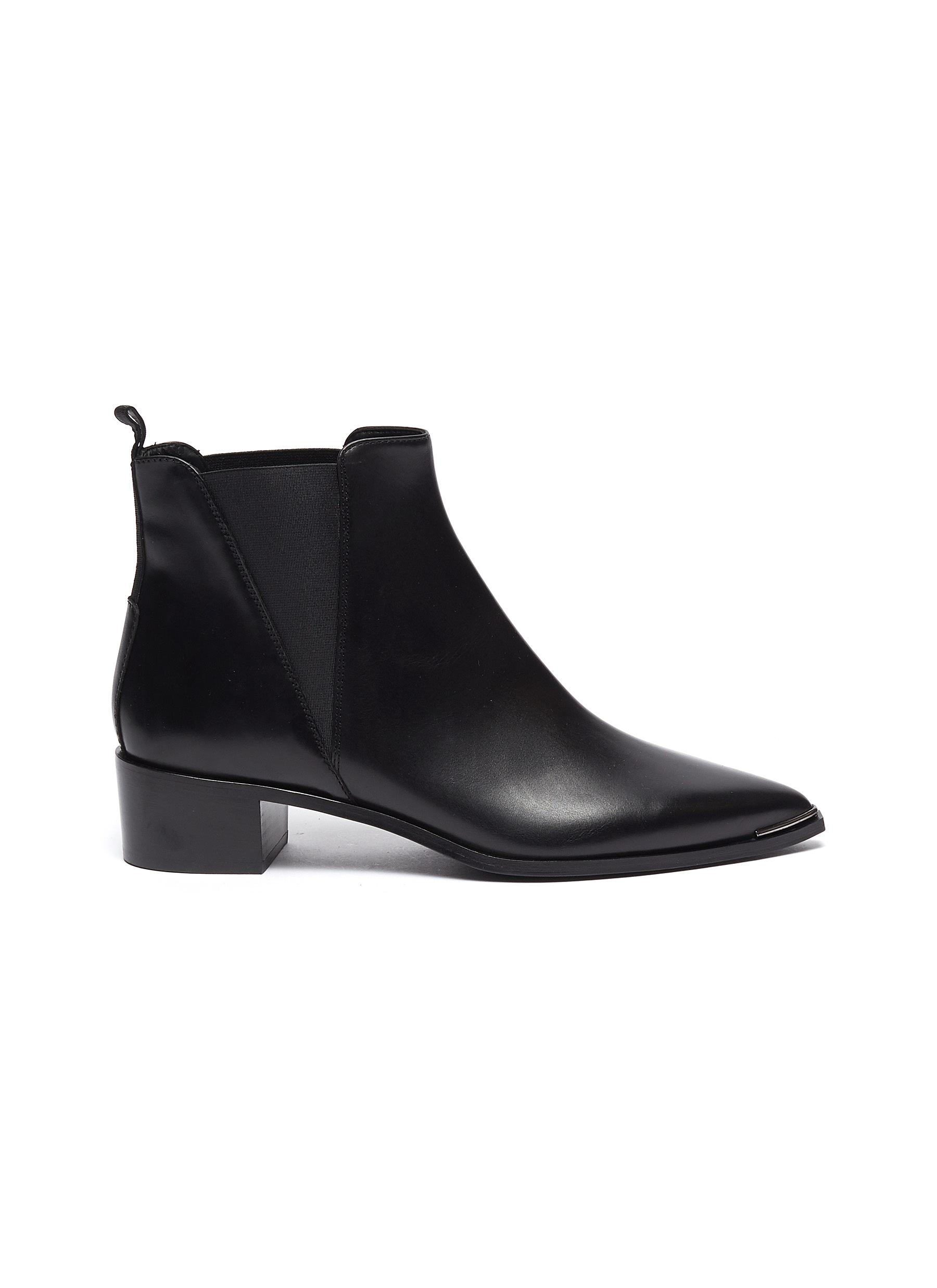 Jensen leather Chelsea boots by Acne Studios
