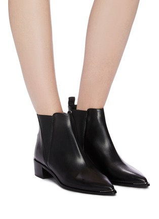 Figure View - Click To Enlarge - ACNE STUDIOS - Leather Chelsea boots