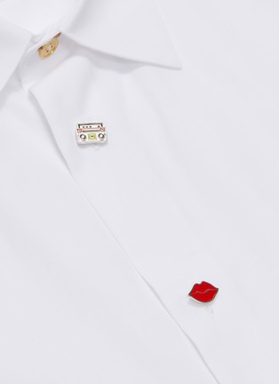 - Paul Smith - Mix graphic button shirt
