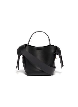 c651f7825 ACNE STUDIOS 'Musubi' knot side micro leather shoulder bag