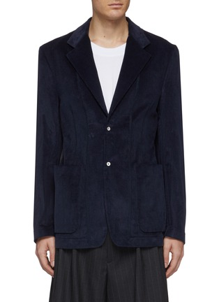 Main View - Click To Enlarge - MAISON MARGIELA - Corduroy soft blazer