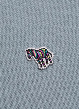 - PS PAUL SMITH - Zebra appliqué stripe border polo shirt