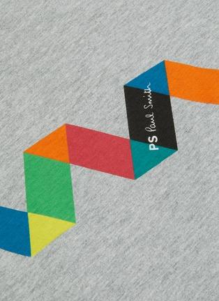 - PS PAUL SMITH - Geometric print organic cotton T-shirt