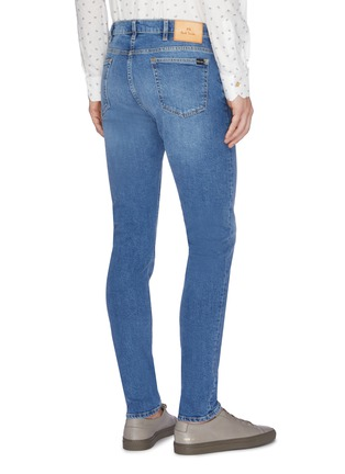 Back View - Click To Enlarge - PS PAUL SMITH - Washed slim fit jeans