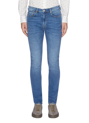 Main View - Click To Enlarge - PS PAUL SMITH - Washed slim fit jeans