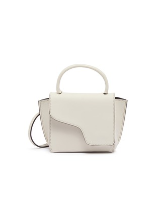 Main View - Click To Enlarge - ATP ATELIER - 'Montalcino' mini top handle leather bag