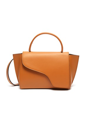Main View - Click To Enlarge - ATP Atelier - 'Arezzo' medium leather shoulder bag