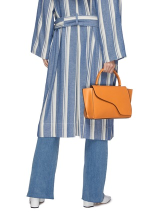 Figure View - Click To Enlarge - ATP Atelier - 'Arezzo' medium leather shoulder bag