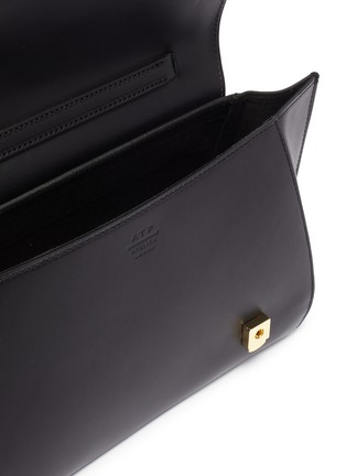 Detail View - Click To Enlarge - ATP ATELIER - 'Arezzo' medium leather shoulder bag