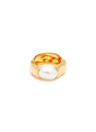 Main View - Click To Enlarge - JOANNA LAURA CONSTANTINE - 'Feminine Waves' pearl ring