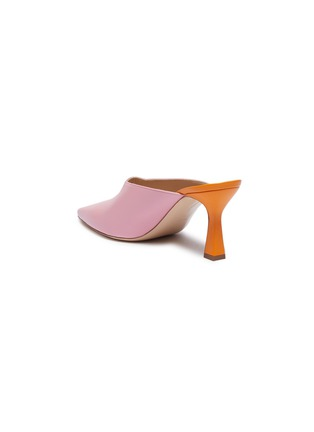 - Wandler - 'Lotte' colourblock leather mules