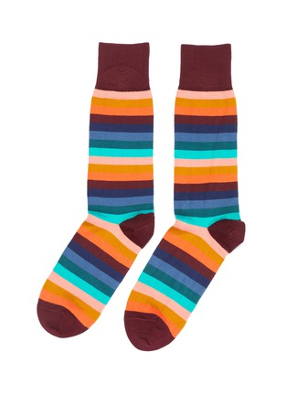 Main View - Click To Enlarge - Paul Smith - Stripe socks