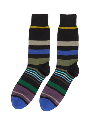 Main View - Click To Enlarge - PAUL SMITH - Mix stripe socks