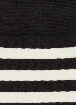 Detail View - Click To Enlarge - Paul Smith - Asymmetric stripe socks