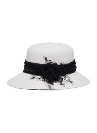 Main View - Click To Enlarge - MAISON MICHEL - Tulle felt hat