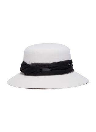 Figure View - Click To Enlarge - MAISON MICHEL - Tulle felt hat