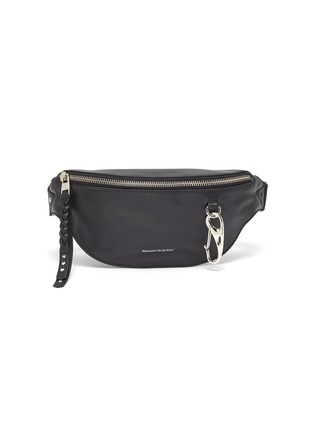 Main View - Click To Enlarge - ALEXANDER MCQUEEN - Leather bum bag