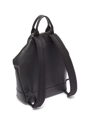 Detail View - Click To Enlarge - ALEXANDER MCQUEEN - 'De Manta' leather backpack tote