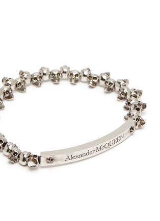 Detail View - Click To Enlarge - ALEXANDER MCQUEEN - Skull chain bracelet