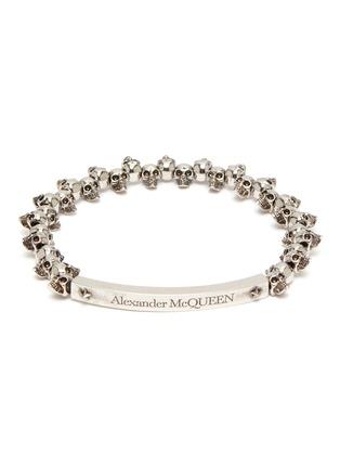 Main View - Click To Enlarge - ALEXANDER MCQUEEN - Skull chain bracelet