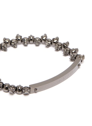 Detail View - Click To Enlarge - ALEXANDER MCQUEEN - Skull chain bracelet