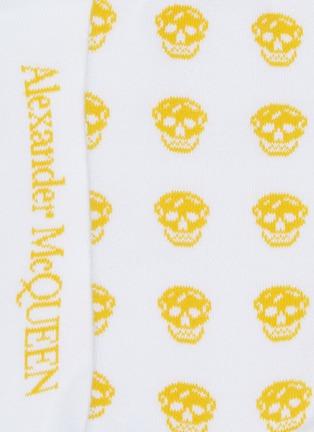 Detail View - Click To Enlarge - ALEXANDER MCQUEEN - Skull print socks
