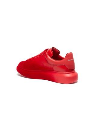 - ALEXANDER MCQUEEN - 'Oversized Sneaker' in flocked leather