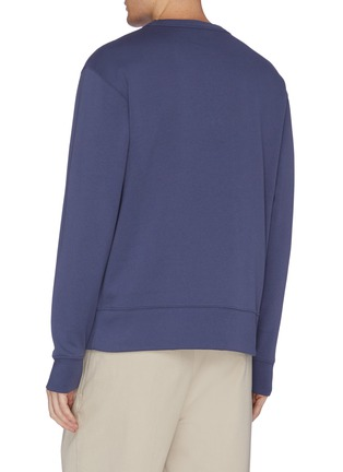 Back View - Click To Enlarge - ACNE STUDIOS - 'Fairview Face' patch sweatshirt