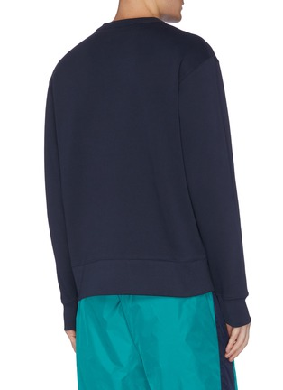 Back View - Click To Enlarge - ACNE STUDIOS - Animal face patch sweatshirt
