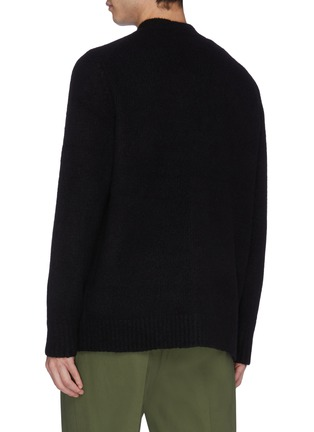 Back View - Click To Enlarge - ACNE STUDIOS - Oversized wool-blend cardigan