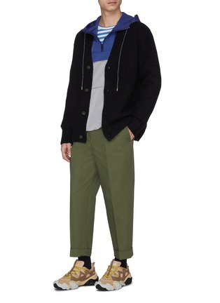 Figure View - Click To Enlarge - ACNE STUDIOS - Oversized wool-blend cardigan
