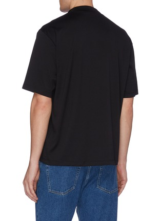 Back View - Click To Enlarge - ACNE STUDIOS - Mock neck T-shirt
