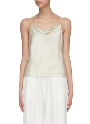 Main View - Click To Enlarge - EQUIL - Silk satin camisole top