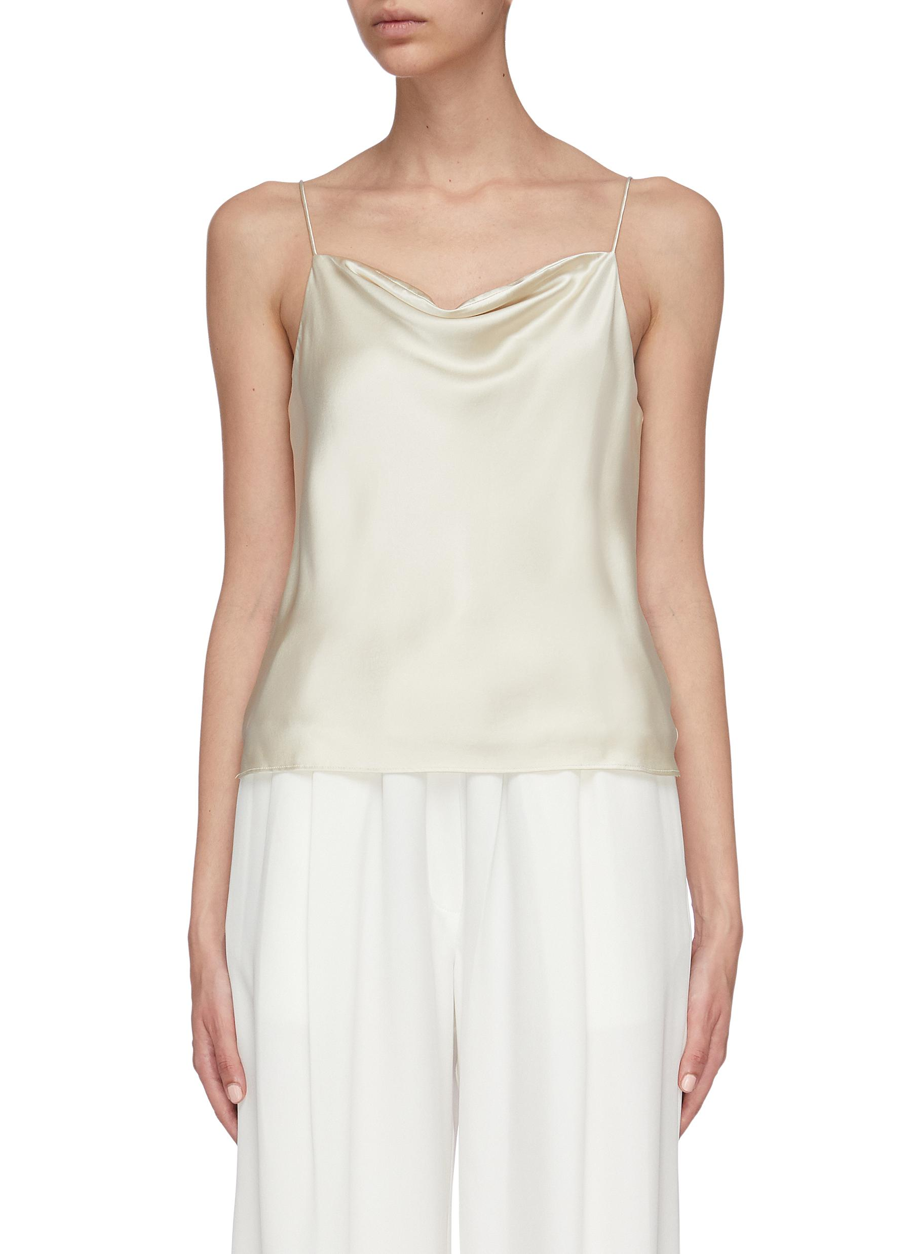 Silk satin camisole top by Equil