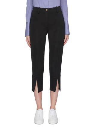 Main View - Click To Enlarge - EQUIL - Split cuff cropped pants