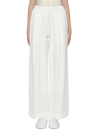 Main View - Click To Enlarge - EQUIL - Silk drawstring wide leg pants