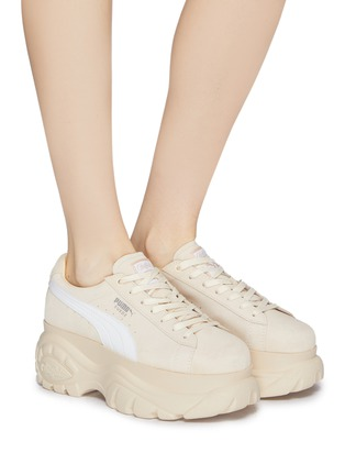 b12c57077ee Figure View - Click To Enlarge - PUMA - x BUFFALO LONDON suede platform  sneakers