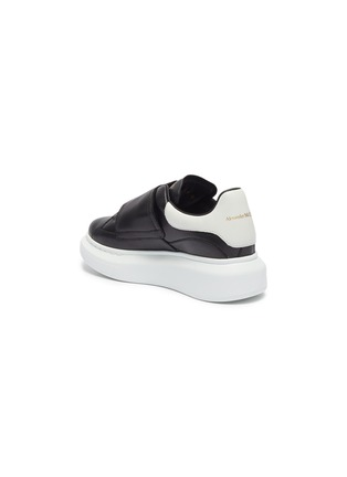 Detail View - Click To Enlarge - ALEXANDER MCQUEEN - 'Kids Oversized Sneaker' in colourblock leather