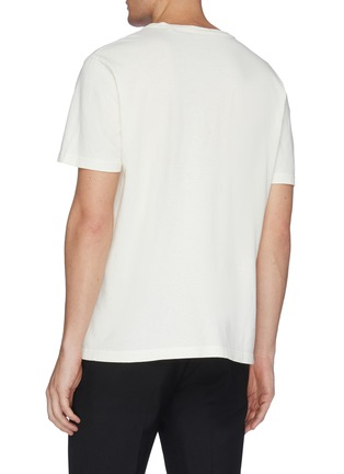 Back View - Click To Enlarge - OUR LEGACY - 'New' flour graphic print boxy T-shirt
