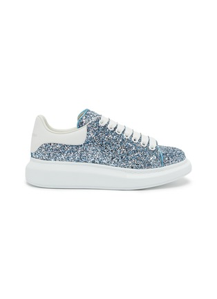 Main View - Click To Enlarge - ALEXANDER MCQUEEN - 'Oversized Sneaker' in coarse glitter