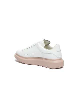 - ALEXANDER MCQUEEN - 'Oversized Sneaker' in leather with contrast outsole