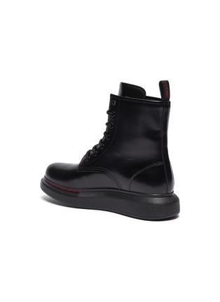 - ALEXANDER MCQUEEN - 'Oversized Combat Boot' in leather