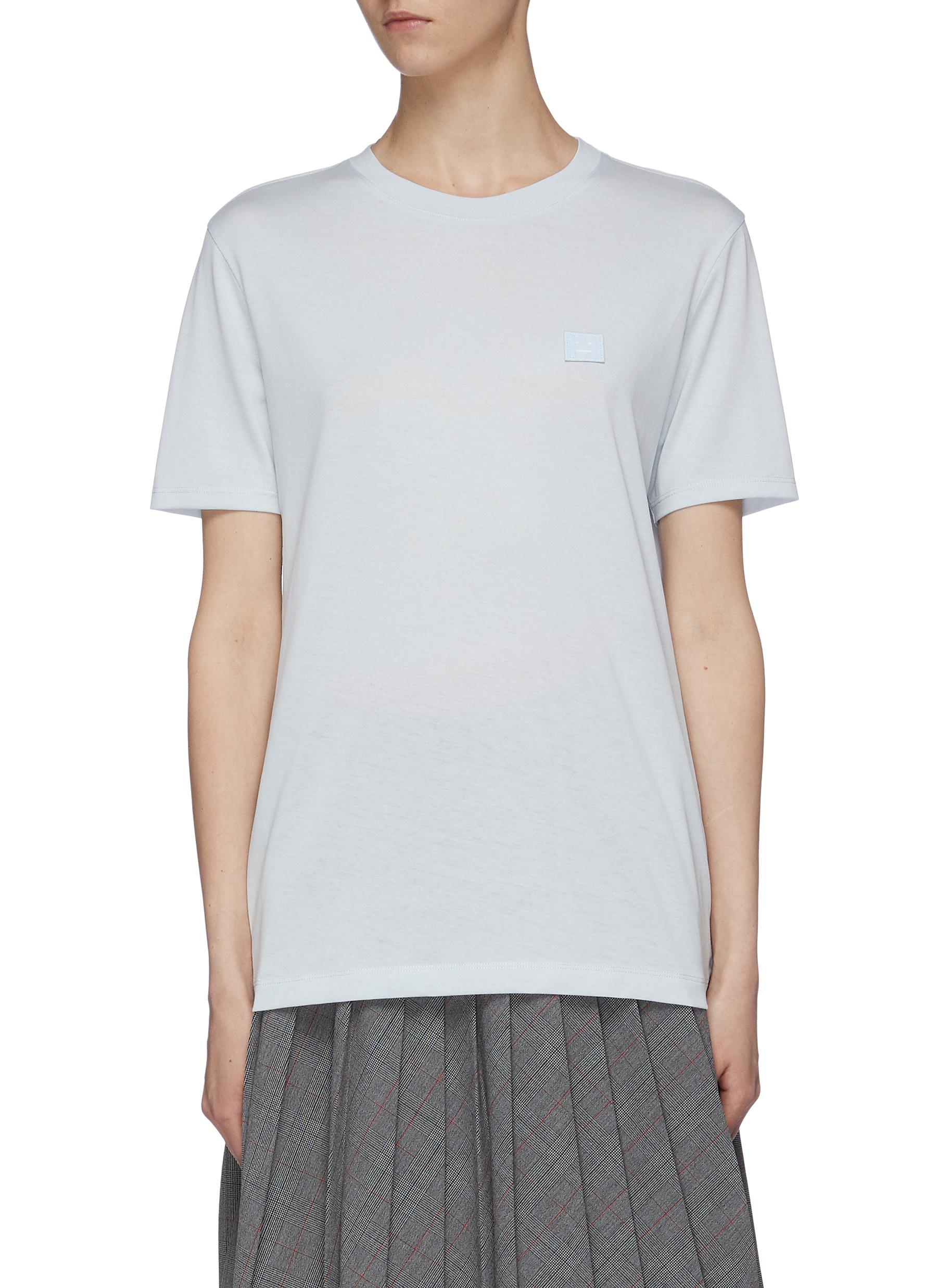 Face patch T-shirt by Acne Studios