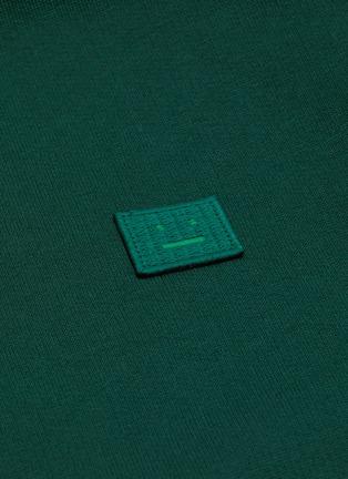 - ACNE STUDIOS - Face patch zip hoodie