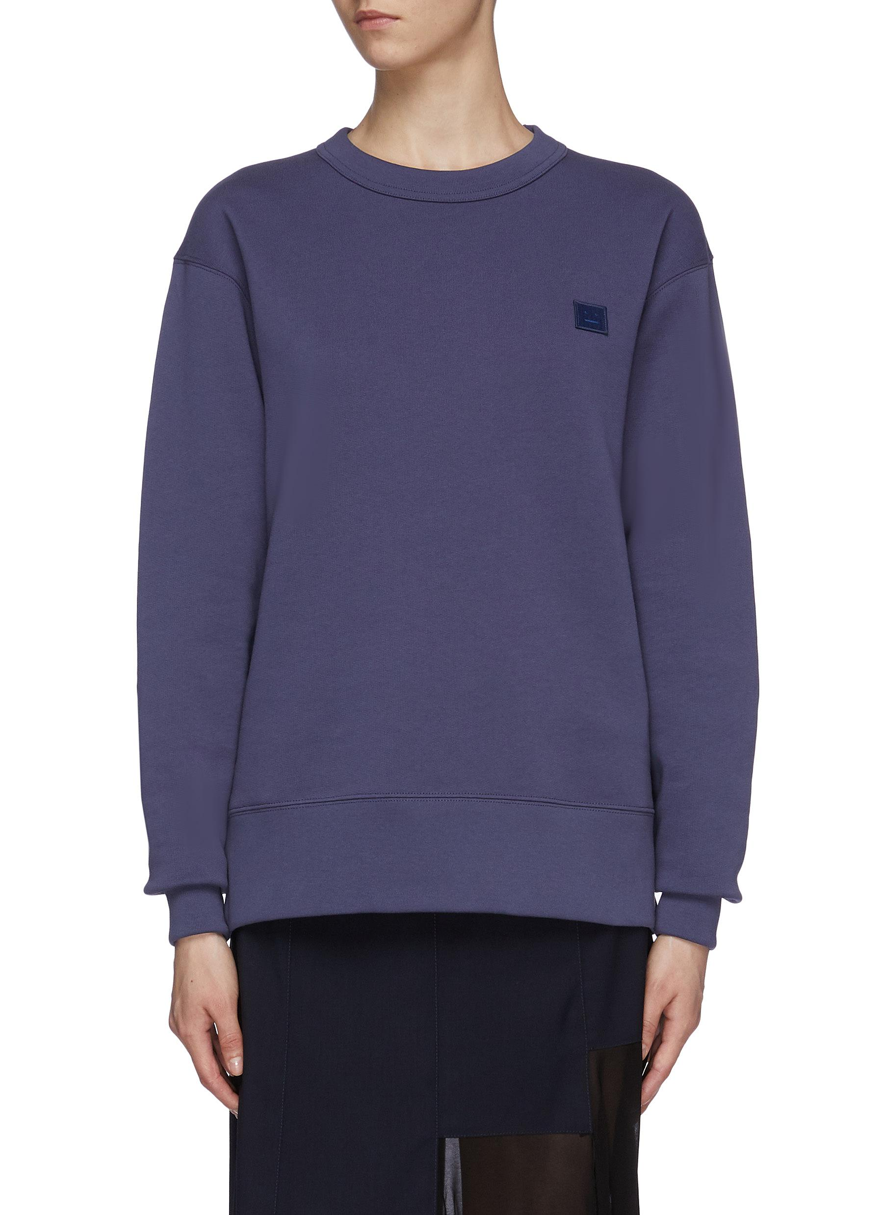 Face patch sweatshirt by Acne Studios