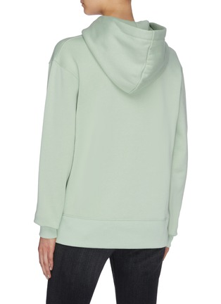 Back View - Click To Enlarge - ACNE STUDIOS - Face patch hoodie
